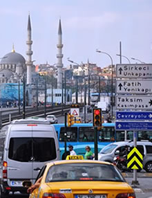 Taxi Hourly hire en Istanbul